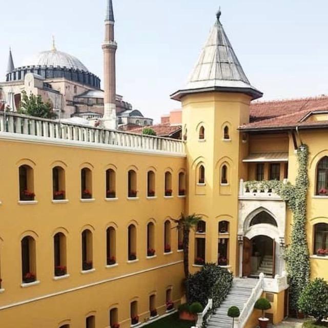 ISTANBUL, TURKEY:         Four Seasons Hotel Istanbul/ Sultanahmet