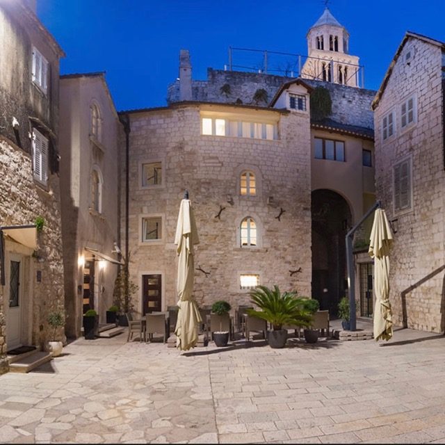 SPLIT, CROATIA:               Hotel Vestibul Palace