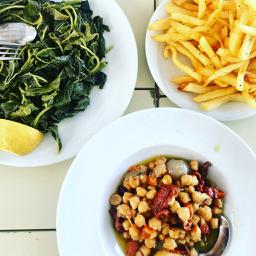 MILOS, GREECE:             Gialos Restaurant